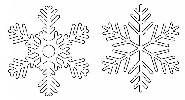 Copos De Nieve De Goma Eva Plantilla Para Descargar Manualidades Con Foamy Plantilla De Copo De Nieve Copos De Nieve Copo De Nieve Frozen