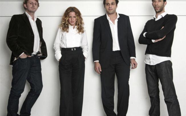 Triptyque os quatro socios do escritorio de arquitetura bureau de