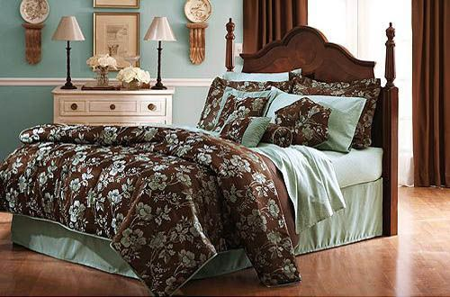 Extensive List Of Green And Brown Bedroom Ideas
