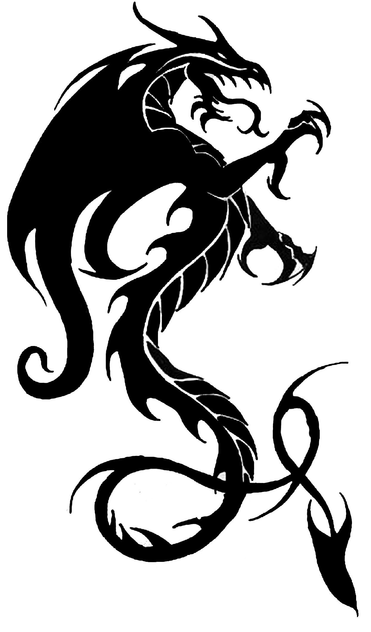... Traditional Celtic Dragon Dreamcatcher Vinyl Wall Art Decal for Home Decor