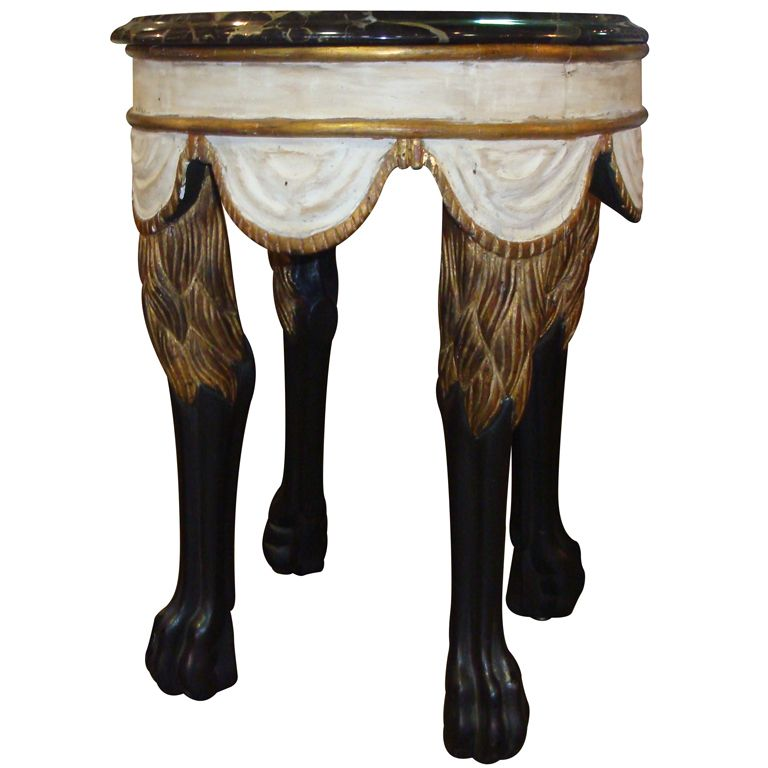 Lion Leg Table By Dennis And Leen