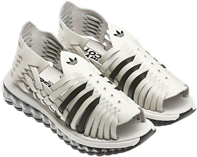 new product 0994f b4346 Adidas Originals Huaraches by Jeremy Scott