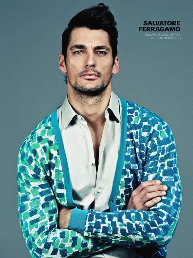 GQ ROMANIA: David Gandy by Photographer Arcin Sagdic - Image Amplified: The Flash and Glam of All Things Pop Culture. From the Runway to the Red Carpet, High Fashion to Music, Movie Stars to Supermodels.
