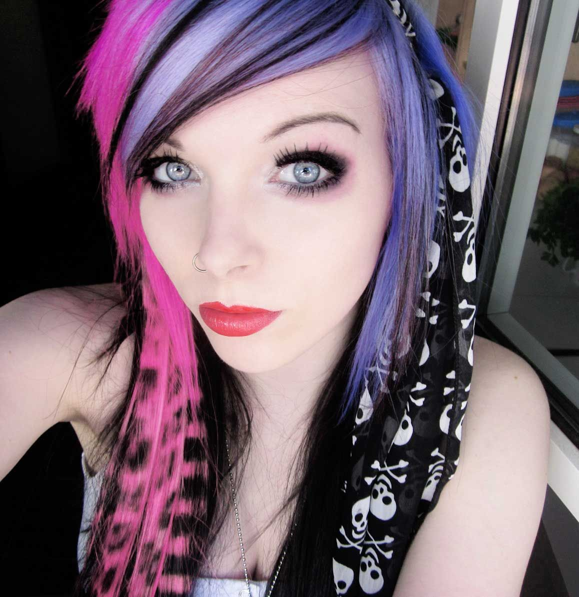scene girls haircuts, styles, and colors pics  Emo emo girl, ira