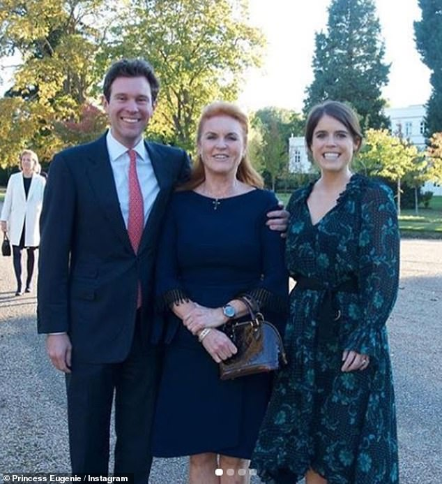 Princess Eugenie Pays A Sweet Tribute To Sarah Ferguson