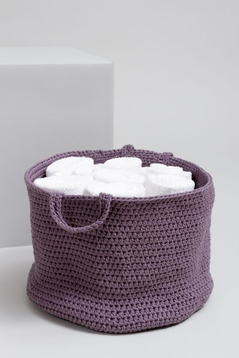 kostenlose anleitung aufbewahrungskorb initiative handarbeit handarbeit h keln stricken. Black Bedroom Furniture Sets. Home Design Ideas