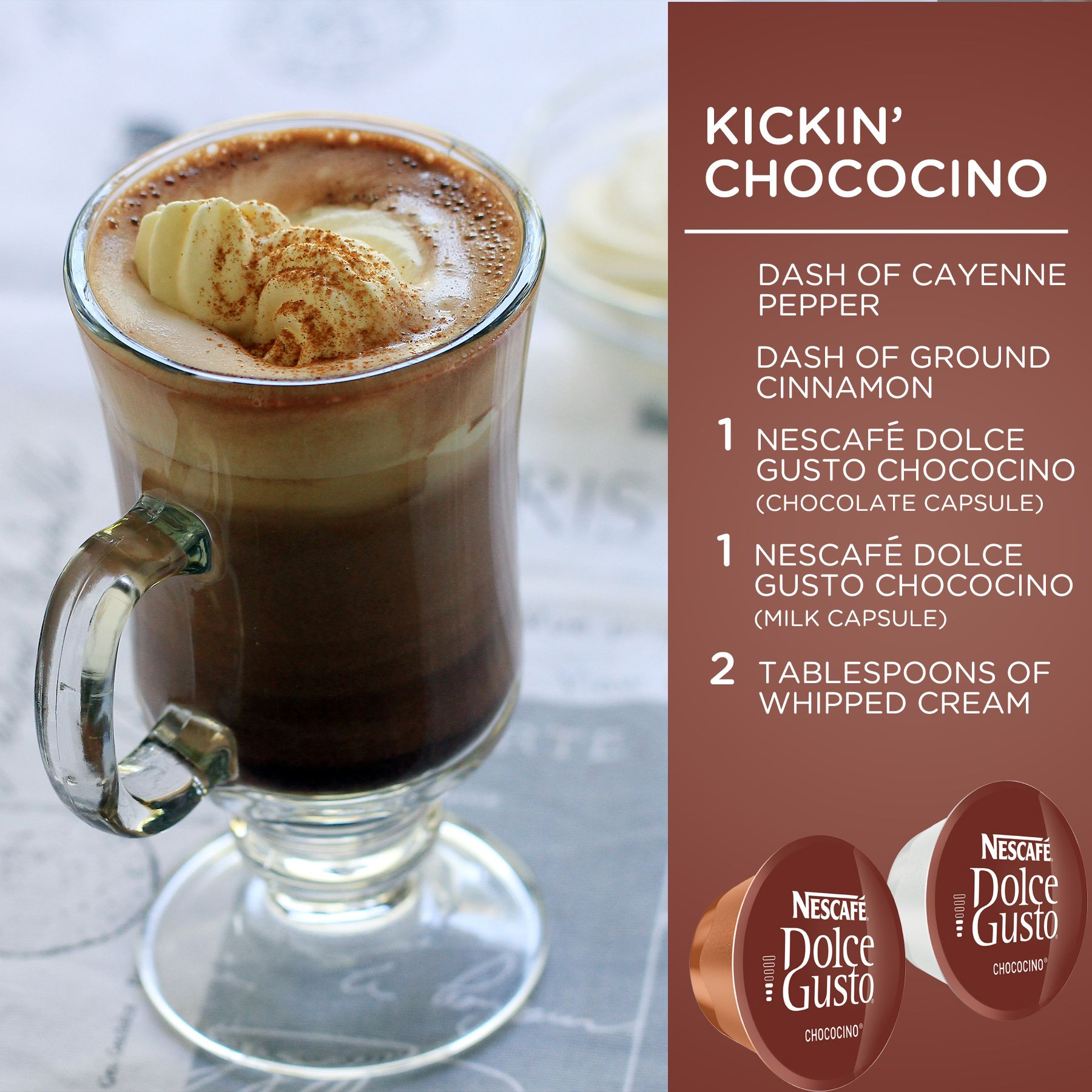 Add A Little Kick To Your Chococino Today With A Dash Of Cayenne