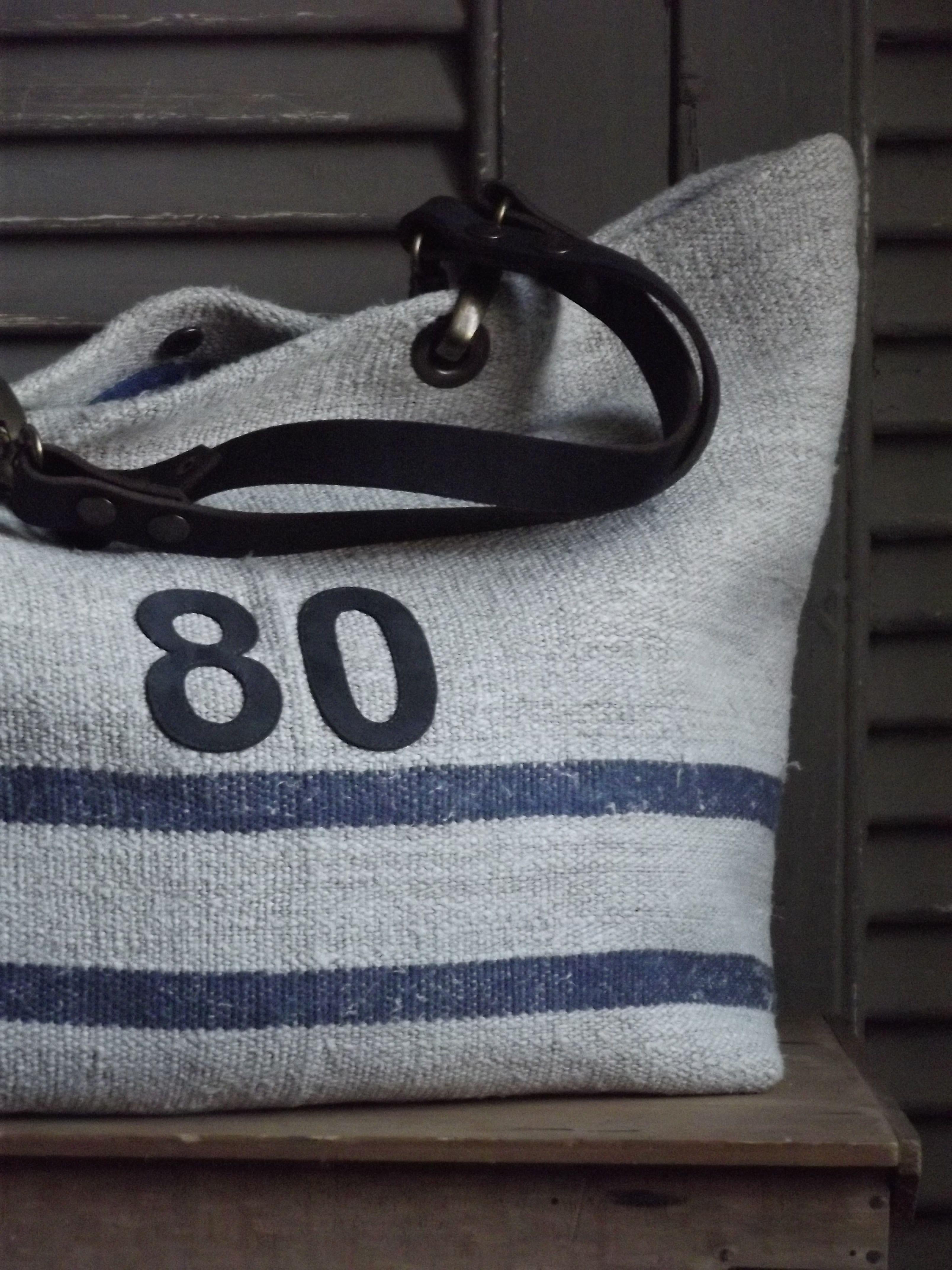 Si un mas m'était conté — Basic Bag { SBB-Chanvre.05-7}