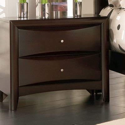 Wade Logan Wexford 2 Drawer Nightstand Products Pinterest