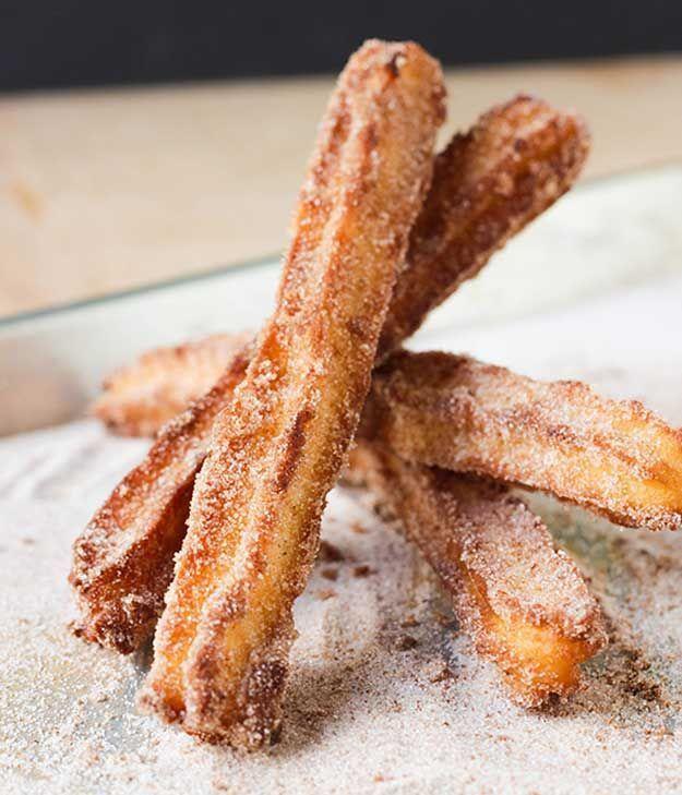 Homemade Churros Recipe for Kids by Homemade Recipes at http://homemaderecipes.com/course/breakfast-brunch/authentic-homemade-churros-recipe