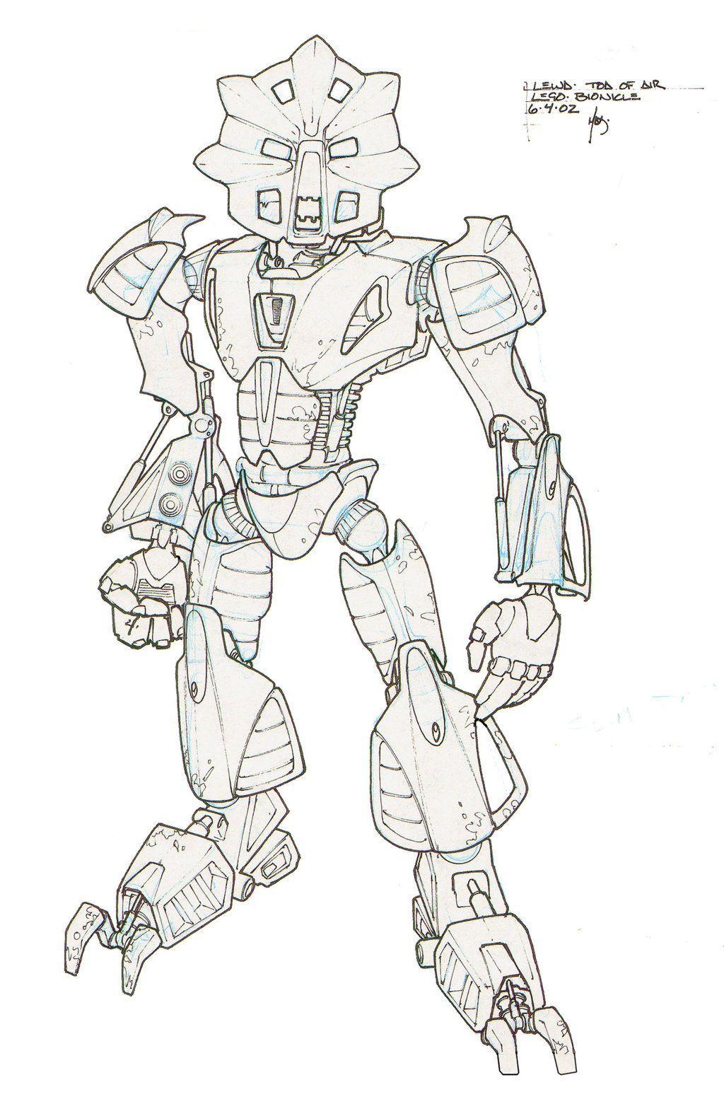 Asombroso Bionicle Para Colorear Imprimible Embellecimiento - Ideas ...