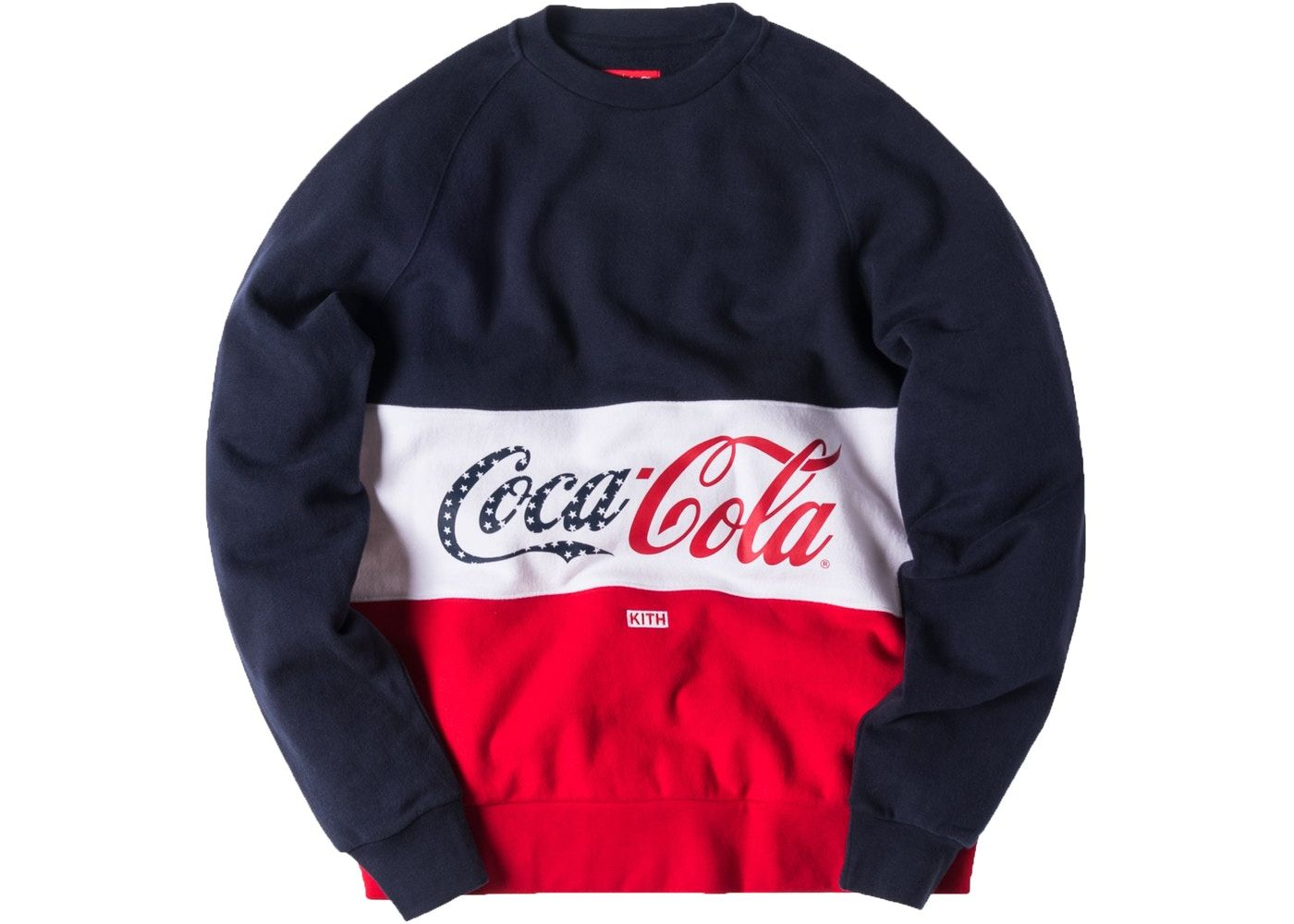 5affa7a6 Kith Coca Cola Paneled Crewneck Red/White/Navy | Gunning in 2019 ...