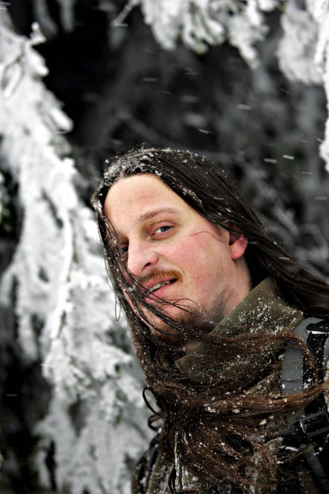 Fenriz aka Gylve Nagell of darkthrone