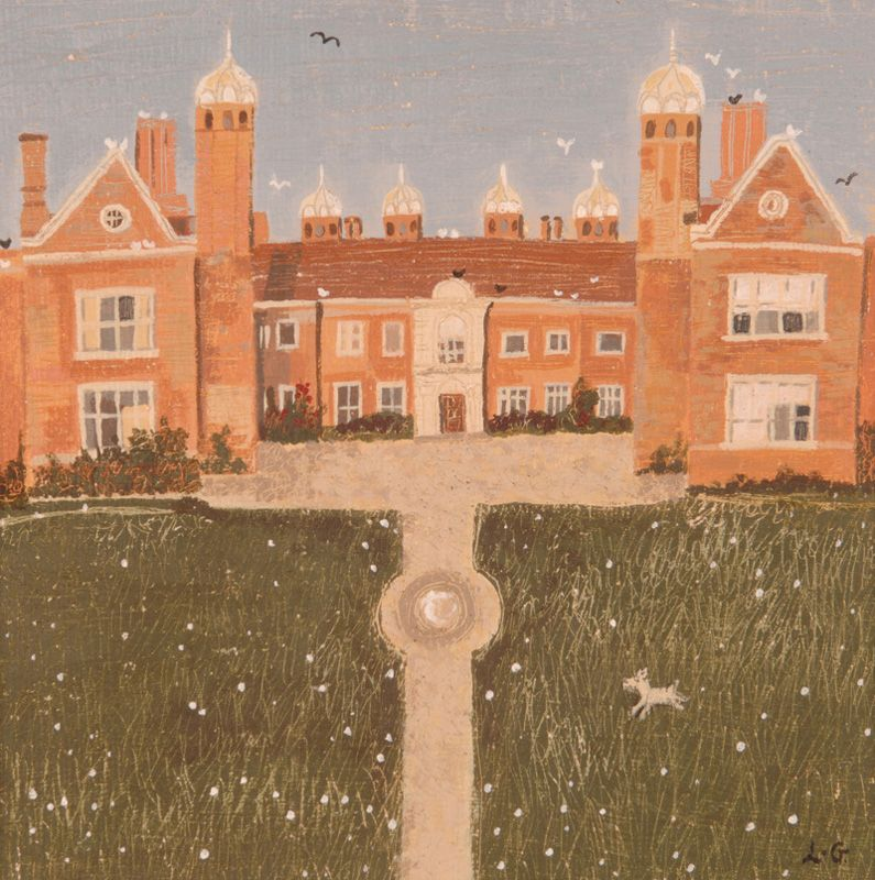 Lucy Grossmith (heart-to-art) - Melford Hall, Long Melford, Suffolk