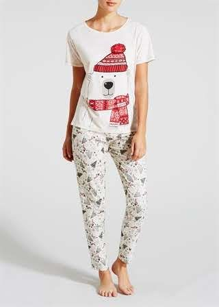 1f23cc33cfd7 Christmas Polar Bear Pyjama Set Christmas Pajamas