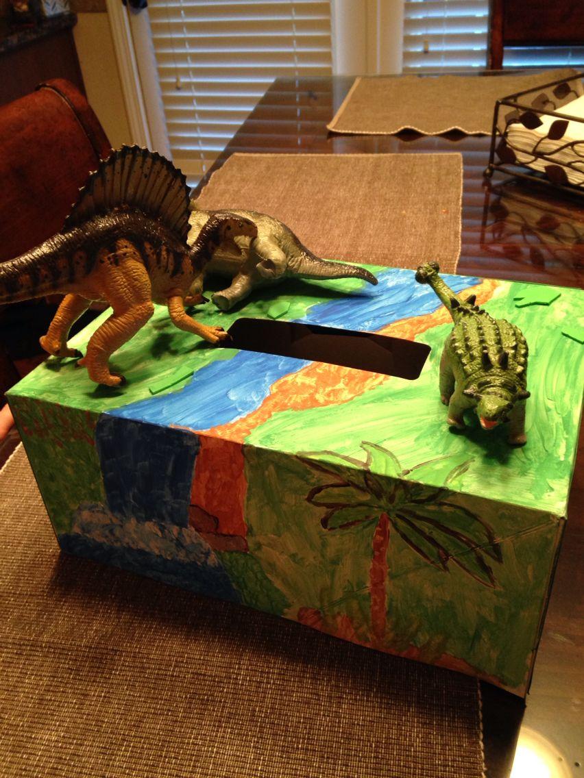 Boys dinosaur valentine box kids valentine boxes boys