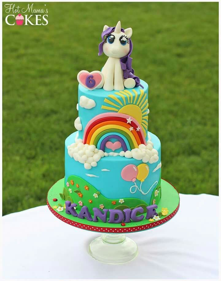 Delectable Delites My Little Pony cake for Phoebes 5th birthday