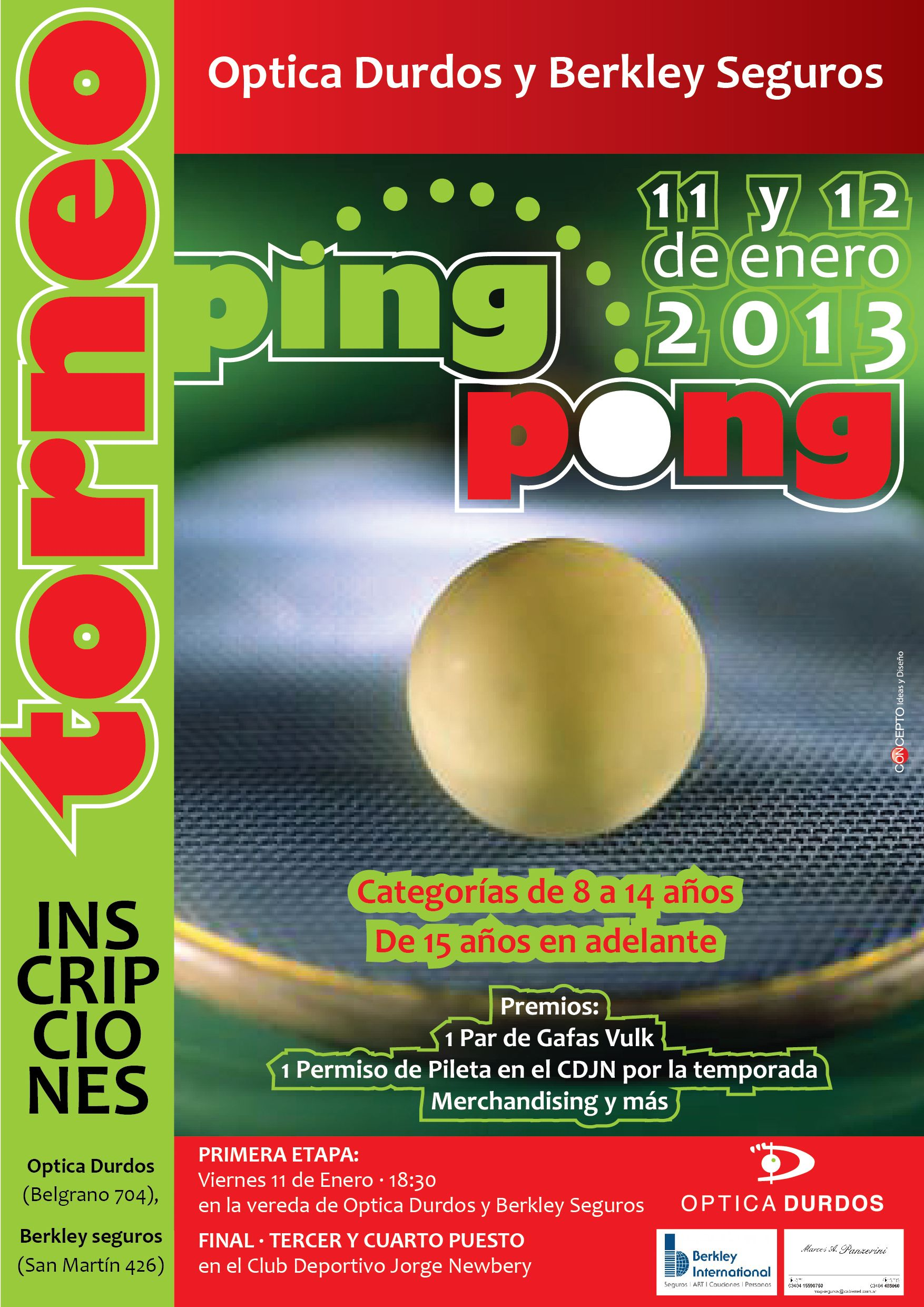 Torneo de Ping pong (With images)