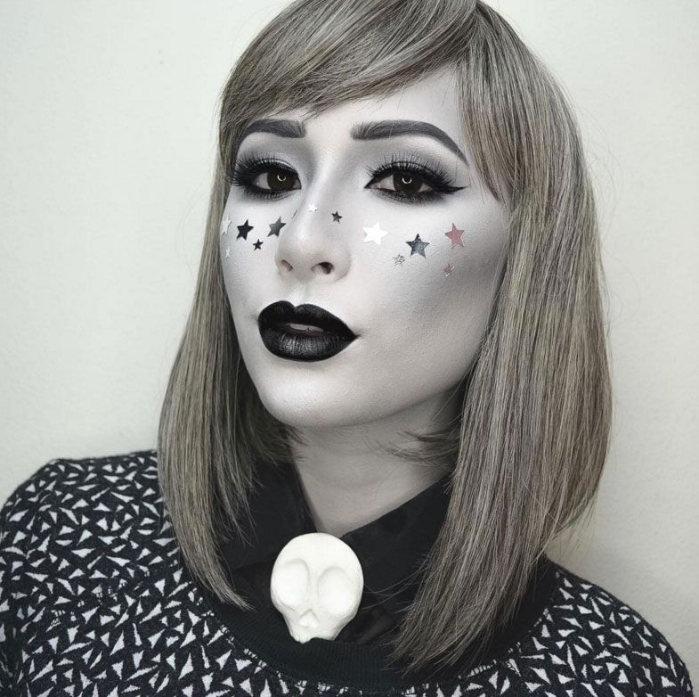 60 Halloween Makeup Looks to Step Up Your Spooky Game | Spooky ...