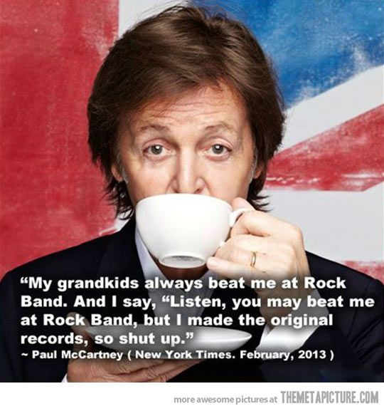 Paul Mccartney Paul Mccartney The Beatles Funny Pictures