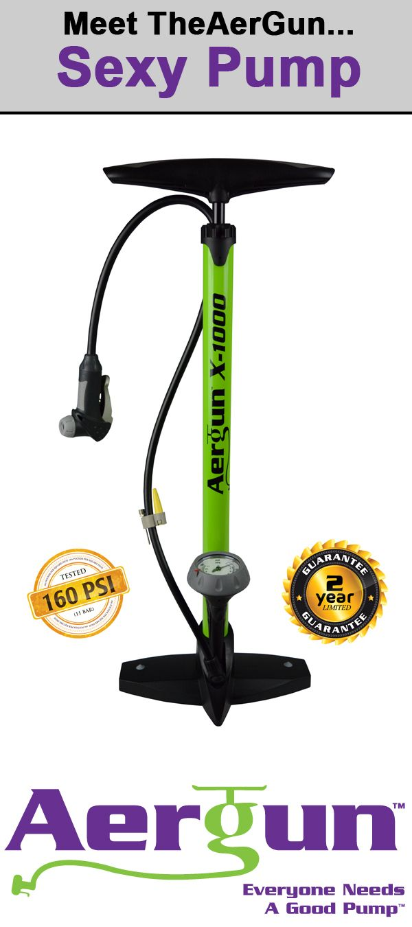 Everyone Needs A Good Pump! The AerGun is 5 Star rated by