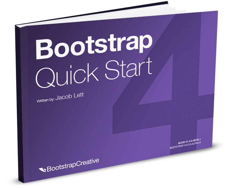 Bootstrap 4 quick start ebook learning responsive web design for bootstrap 4 tutorial pdf ebook httpsbootstrapcreativeshopbootstrap quick start malvernweather Gallery