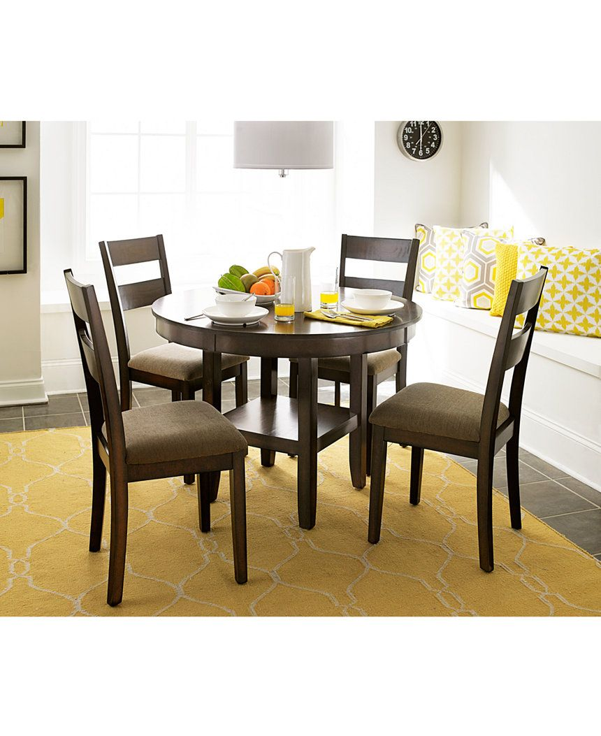 Branton Round Dining Table Dining Room Furniture Sets Dining