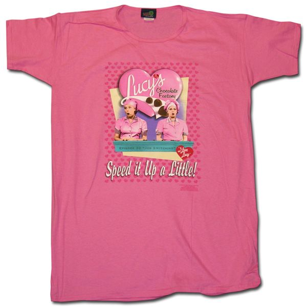 aef6c648 I Love Lucy Chocolate Factory Night Shirt $19.95 - One Size Fits All |  Available at LucyStore.com