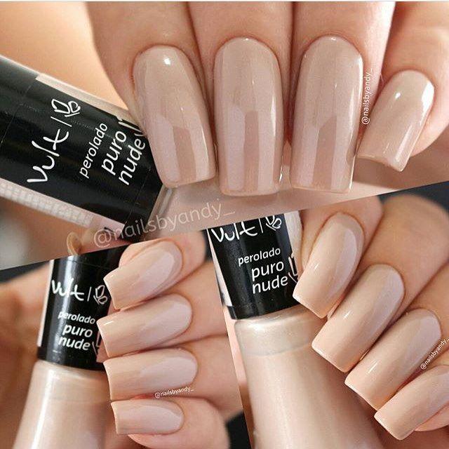 Esmalte Puro Nude da @vult_cosmetica ❤ Para comprar acesse nosso ...