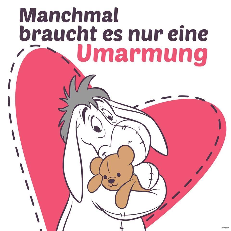 IAh  Umarmung  Freundschaft  Liebe  Winnie the Pooh Eeyore