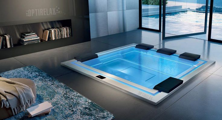 Elegant Outdoor Whirlpool   Spa Kaufen Von OPTIRELAX®