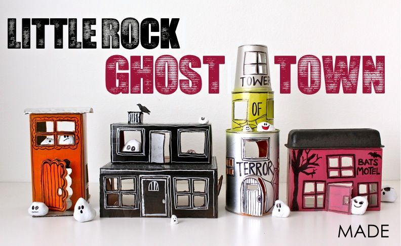 TUTORIAL: Little Rock Ghost Town   MADE