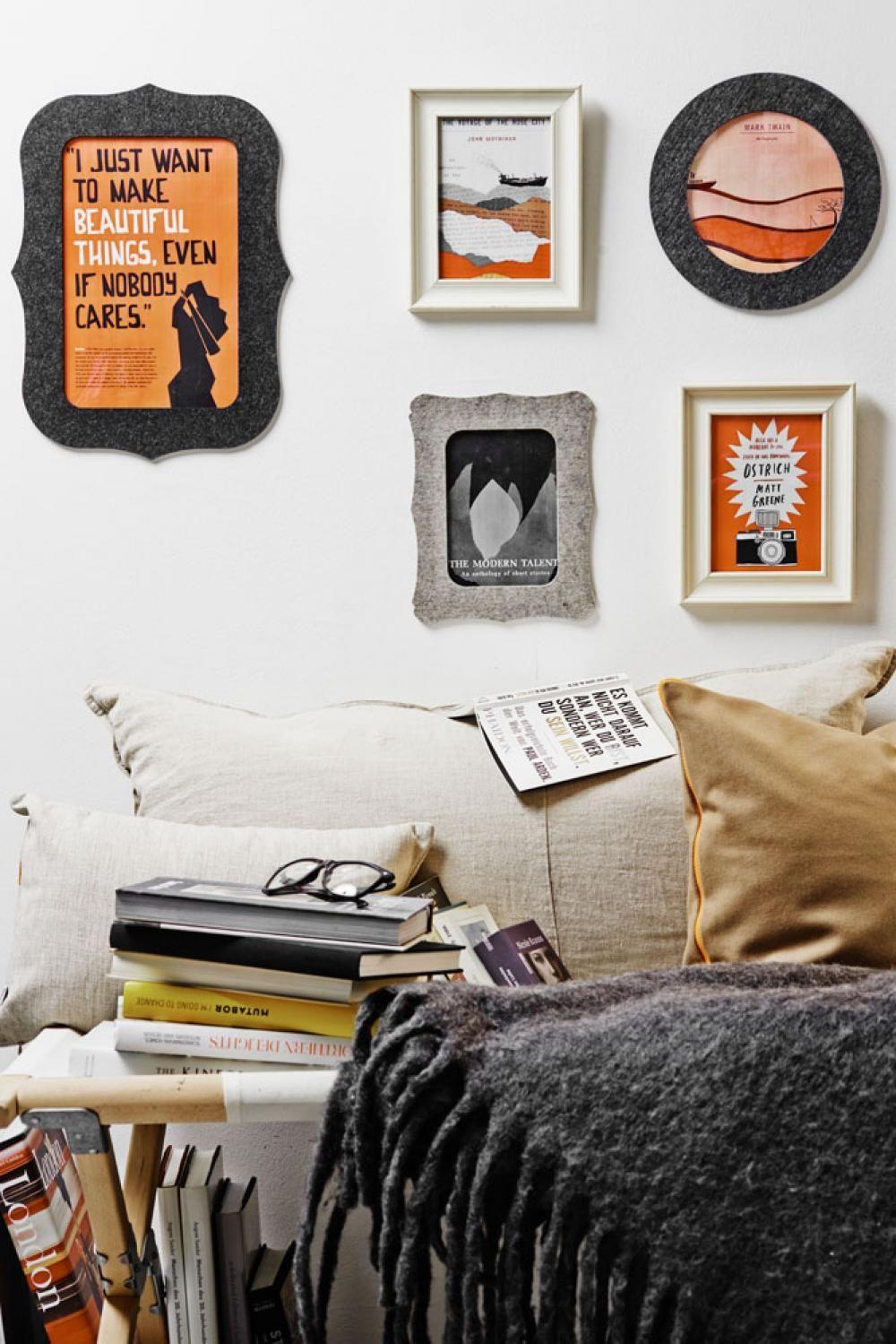 Felty Picture Frames - Coole Idee: Die Bilderrahmen von ROOMstories ...