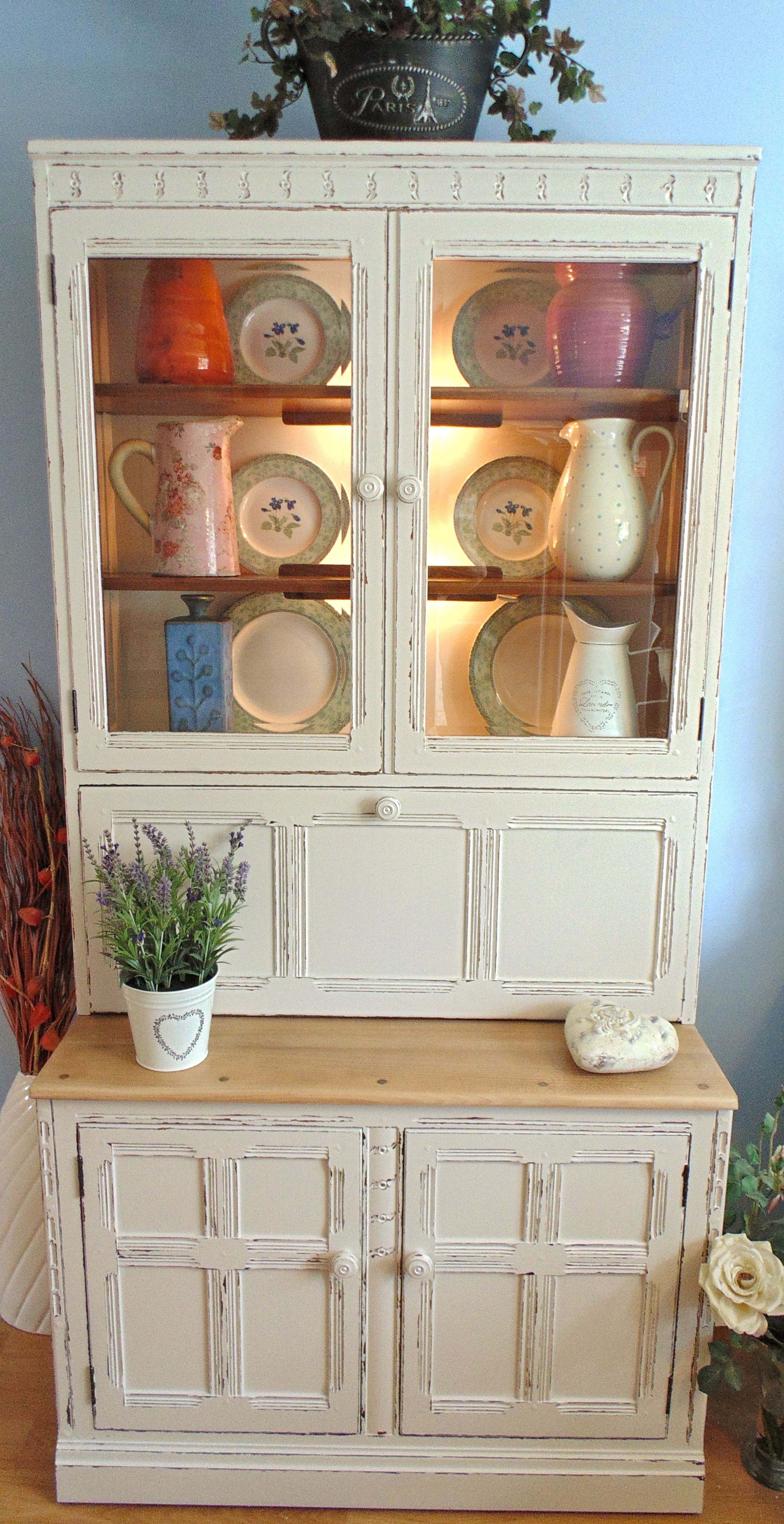 Farrow And Ball Skimming Stone Stunning Ercol Solid Wood Dresser In Farrow And Ball