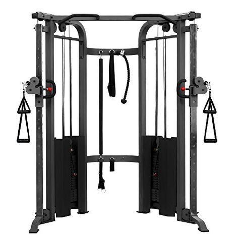 Xmark Functional Trainer Cable Machine With Dual 200 Lb Https Www Amazon Com Dp B00823oqhu Ref Cm Sw R At Home Gym Cable Machine Cable Crossover Machine