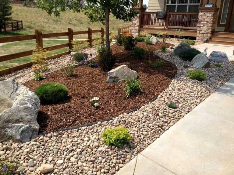 63+ Inspiring DIY Front Yard Privacy Fence Remodel Ideas ... on Front Yard Renovation Ideas id=29874