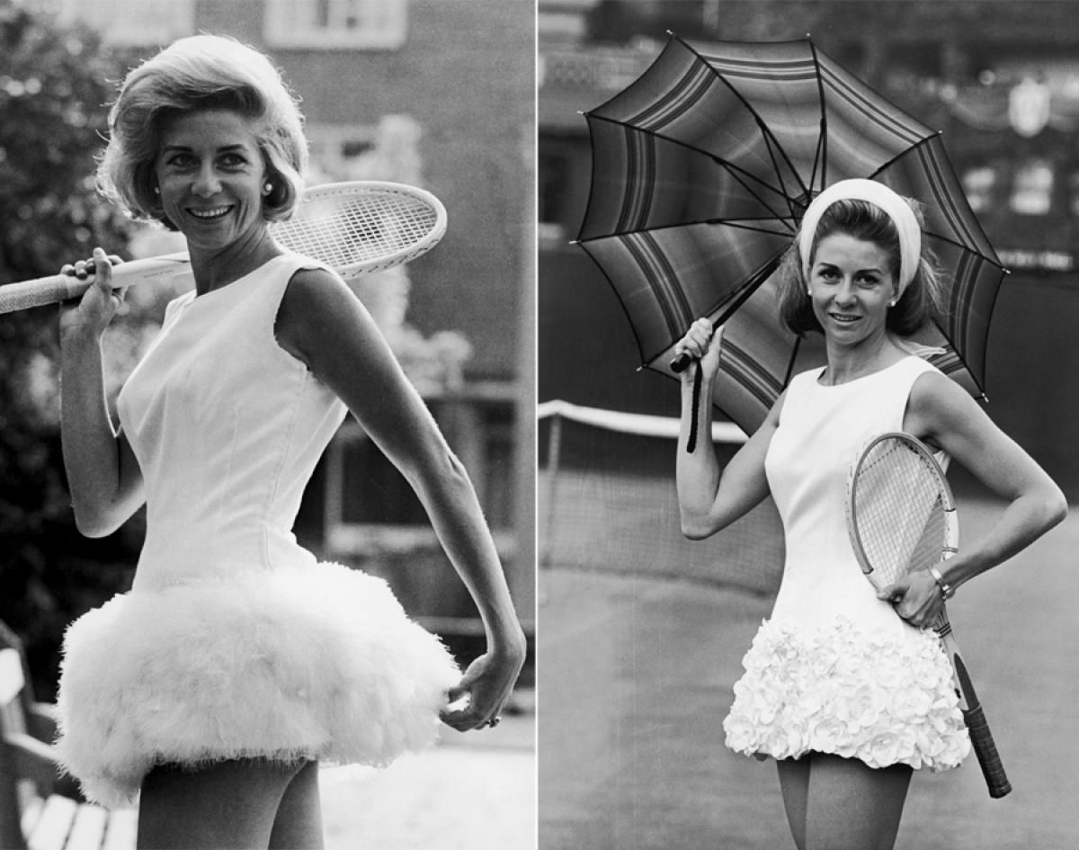 Lea Pericoli 1964 & 1965 s Tennis fashion through the