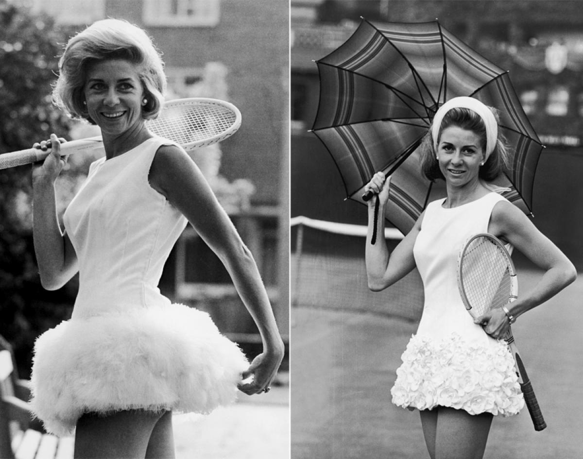Lea Pericoli 1964 & 1965 s Tennis fashion through the