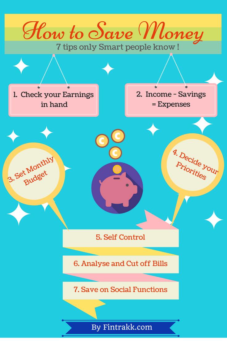 Money Saving tips Infographic ! Money saving tips
