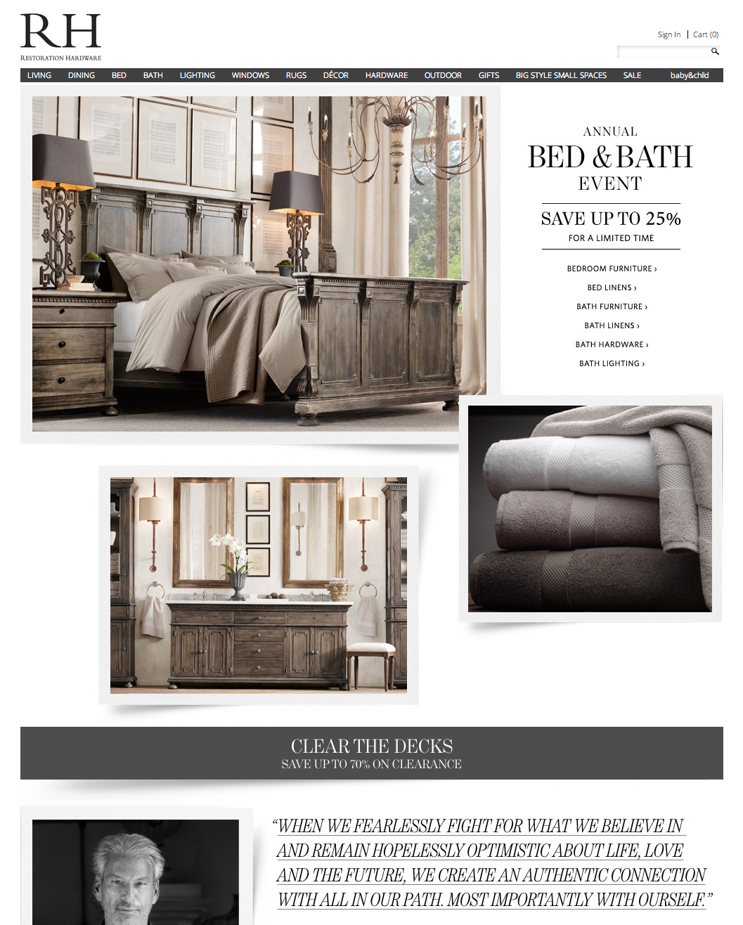 Restoration Hardware (With Images)