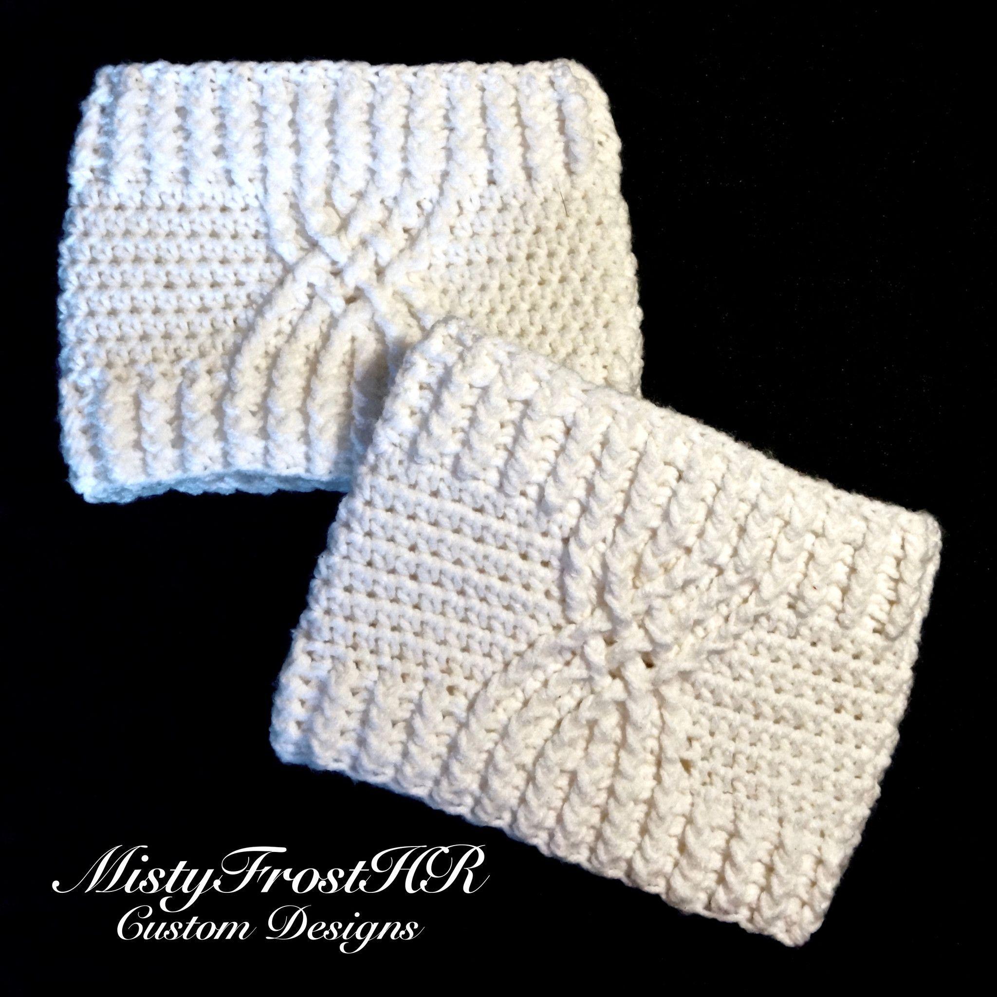 Crochet Celtic Boot Cuffs | Puños, Botas y Medias