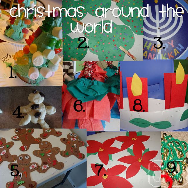 Christmas Around The World Craft Ideas Part - 19: Christmas Around The World Ideas - A Great Way To Celebrate Holidays Around  The World With Arts And Crafts In The Classroom!