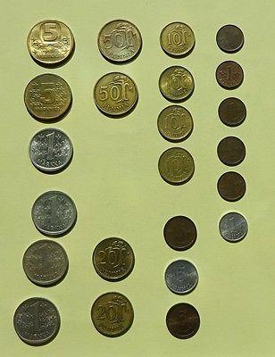 Alte Finnische Münzen 23 Stcksparen25com Sparen25de