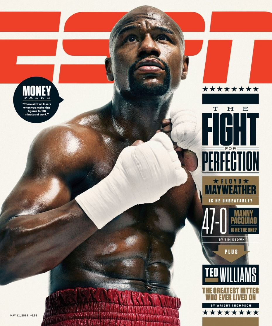 ESPN The Magazine is a sports magazine featuring news, scores, and