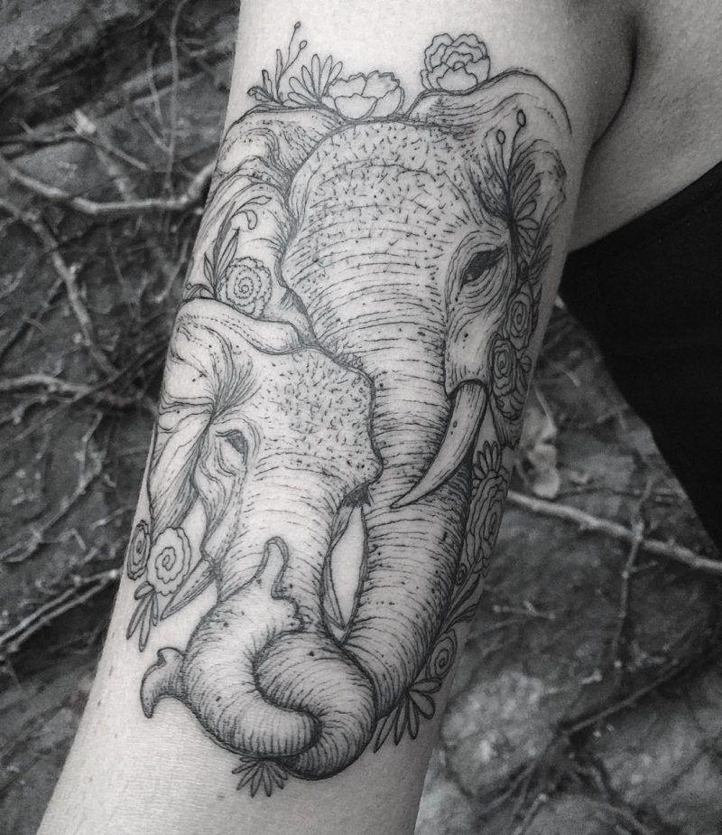 Photo of Elephant Tattoo te da fuerza: 25 ideas fascinantes – Tattooclub.com