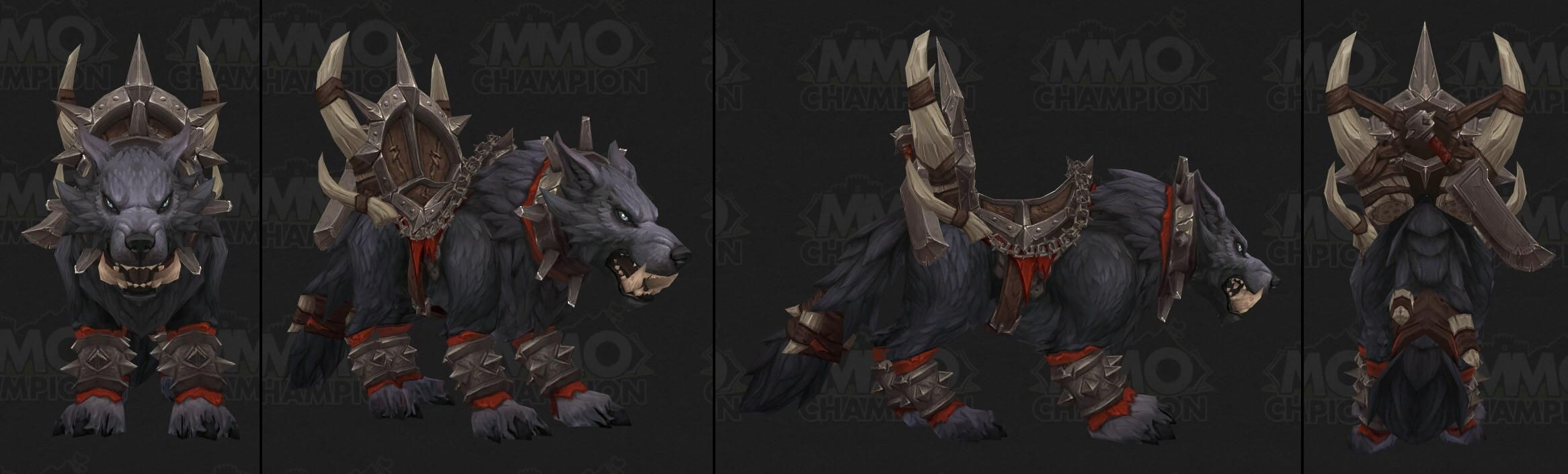 New Mount Datamined Called Maghar Direwolf Looks Like Well Be Getting Outland Orcs Not Draenor Ones Worldofwarcraft B Dire Wolf Hearthstone World Of Warcraft