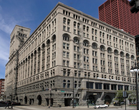 Auditorium Building by Louis Sullivan
