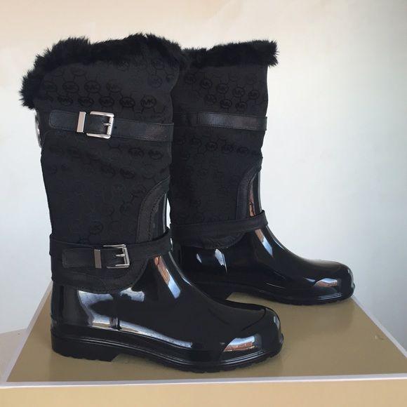 Brand new Michael Kors rain boots New in box Michael Kors Shoes Winter & Rain Boots