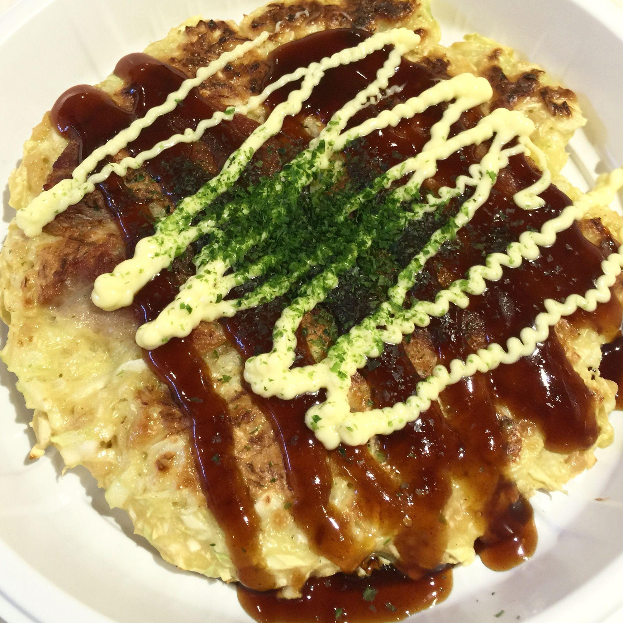 Okonomiyaki #大板燒