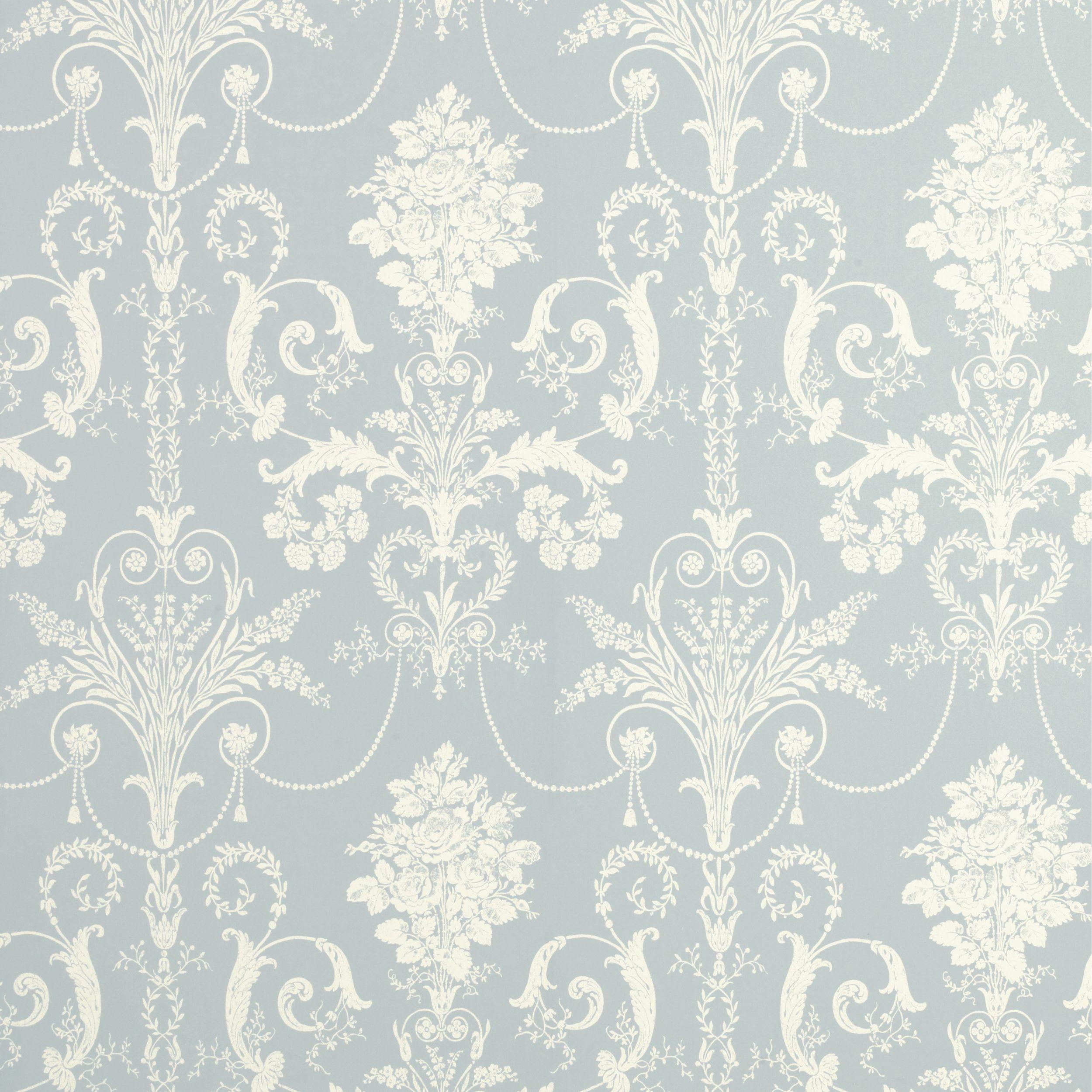 Laura Ashley Josette Seaspray Wallpaper